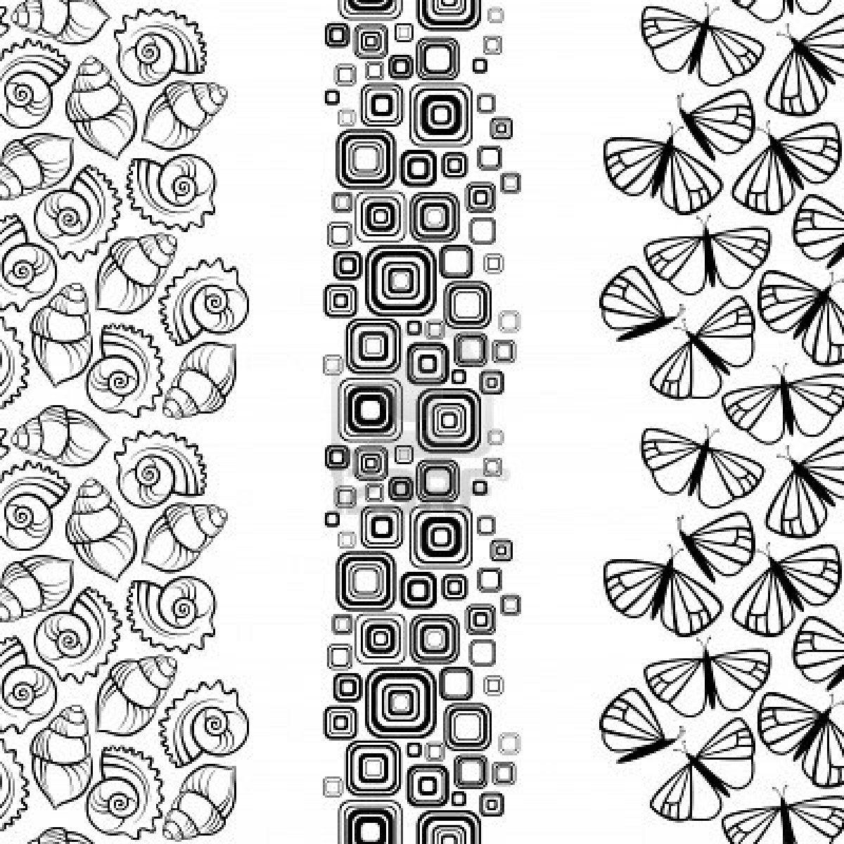 Disegni geometrici decorativi , Disegni da colorare , IMAGIXS