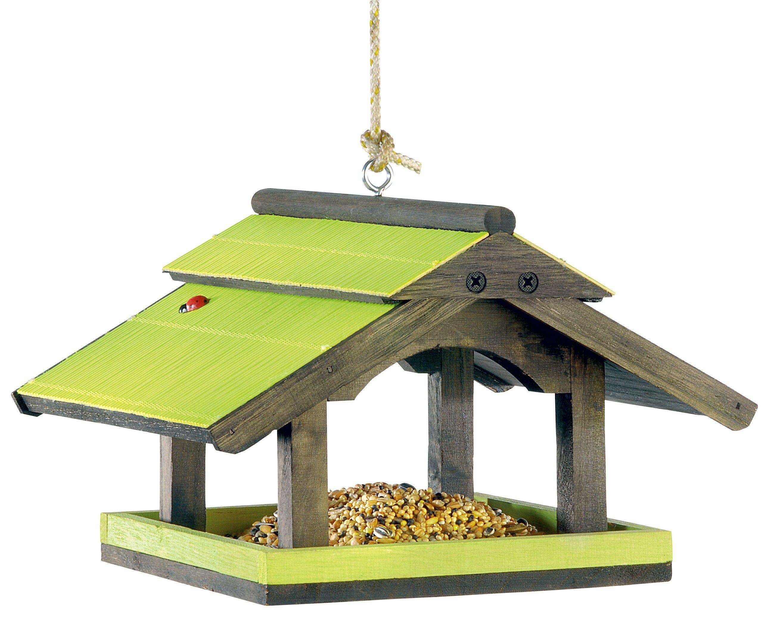 Pour prendre soin des oiseaux des jardins wanimo propose des mangeoires nichoirs abreuvoirs with - Fabriquer abreuvoir oiseaux ...