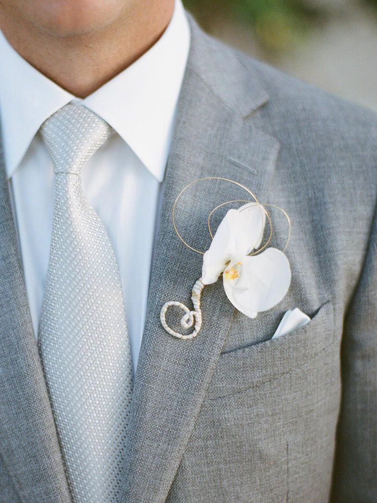 Suave Boutonniere Styles for Dapper Grooms | Pinterest ...