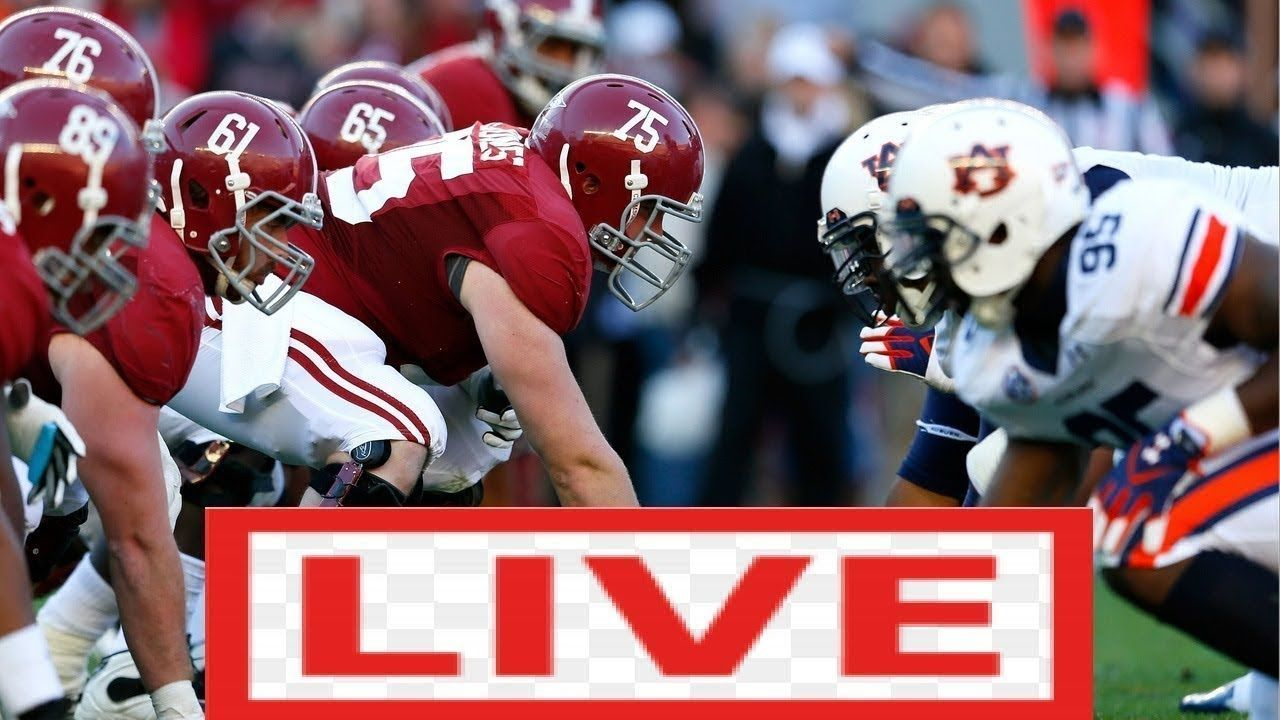 Alabama Vs Auburn Live Hd 11 30 2019 Ncaa College Football Live