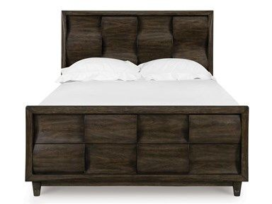 Shop For Magnussen Home Noma Queen Bed With Storage Footboard
