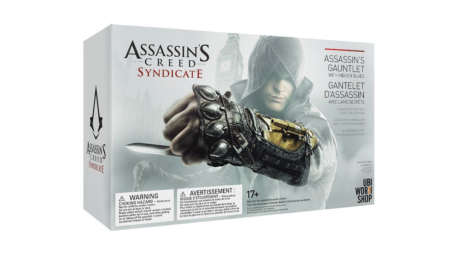 Amazon Com Assassin S Creed Syndicate Assasin S Gauntlet With Hidden Blade Toys Games Assassins Creed Syndicate Assassin S Creed Gauntlet Assassin