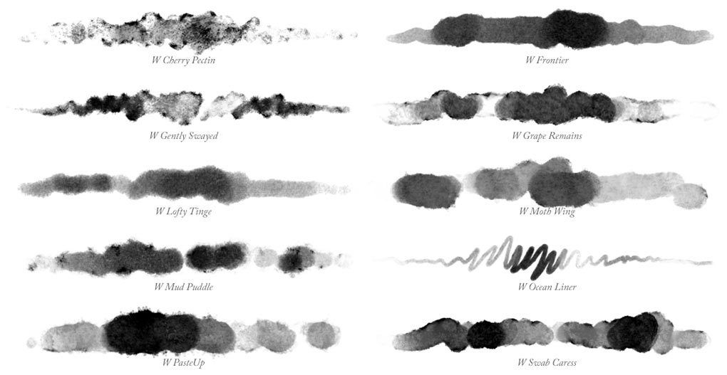 650 Free Watercolor Photoshop Brushes Photoshop Freebies