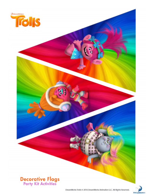 Everything You Need For A Trolls Birthday Party Invitations Free Printable Food And Beverages
