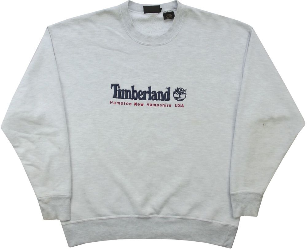 low priced 5ddcb 3abfc Image of Vintage Timberland Sweatshirt Size XL