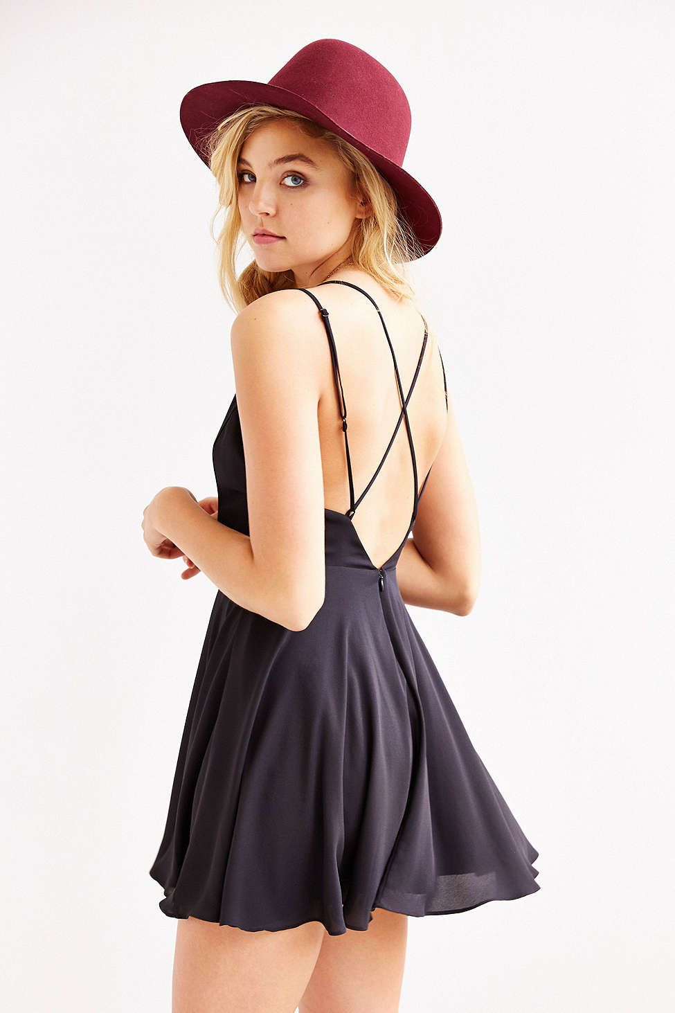 d27f295d3fe4 Sparkle & Fade Strappy Chiffon Skater Dress | Fashion | Skater Dress ...