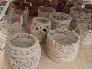 cerámica-churros- barro