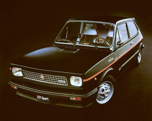 Automoviles8090 Fiat 127 Sport 1980 Fiat Retro Cars Fiat Cars