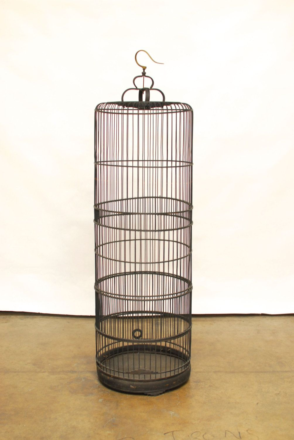 Large Chinese Wooden Bird Cage by ErinLaneEstate on Etsy