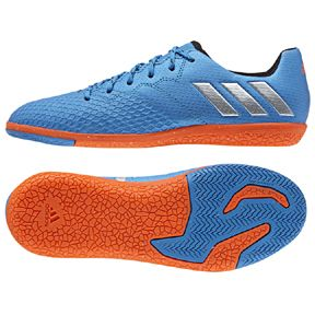Adidas Youth Lionel Messi 16 3 Indoor Soccer Shoes Blue Orange Http Www Soccerevolution Com Store Products Soccer Shoes Soccer Store Soccer Gear