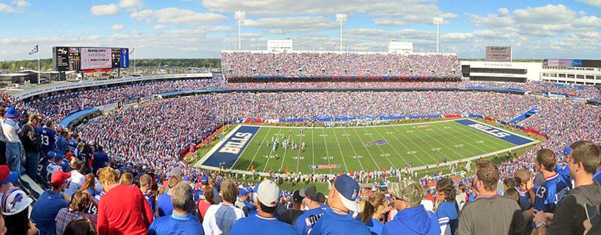 Buffalo S New Era Field Seat Map And Venue Information Nfl Stadiums Nfl Ralph Wilson Stadium