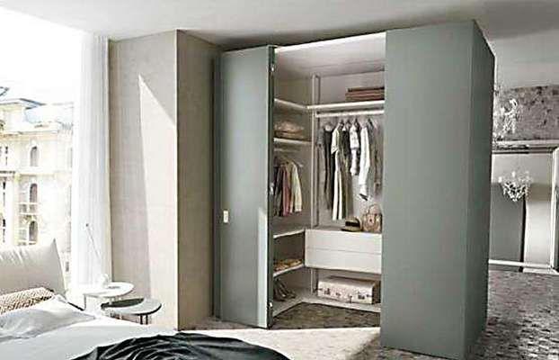 Scegliere la cabina armadio per la vostra camera da letto for Armadi per piccoli spazi