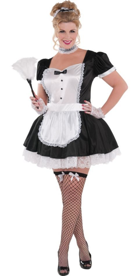 Adult Sassy Maid Costume Plus Size , Party City