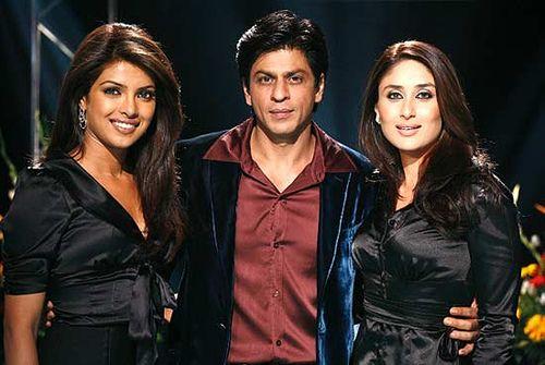 Last Episode Of The Season With Kareena Kapoor And Priyanka Chopra Priyanka Chopra Bollywood Celebrities Shah Rukh Khan Movies