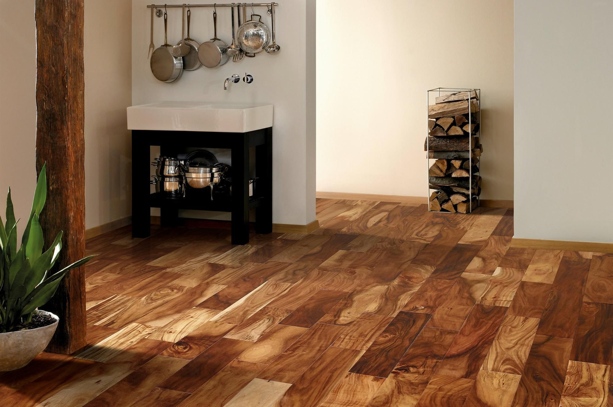 Trail Acacia Locking Hand Sed Engineered Hardwood 3 8in X 5in Floor And Decor
