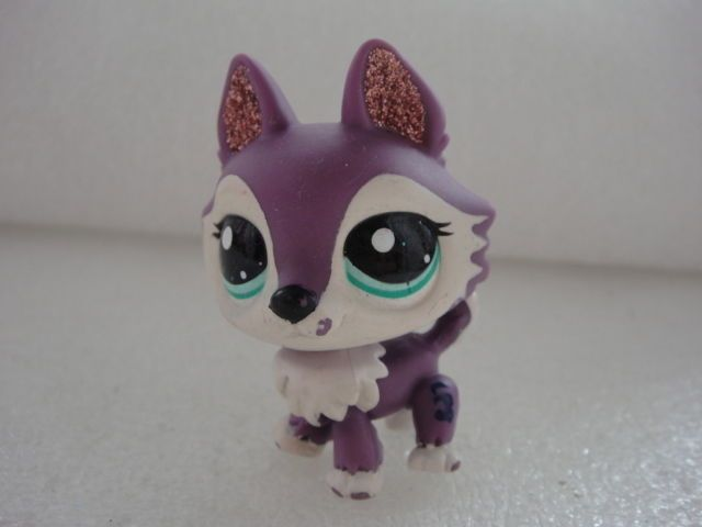 Littlest Pet Shop Hasbro LPS MCDONALD'S HUSKY DOG