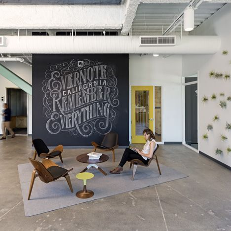 Evernote offices in redwood city silicon valley by studio o a