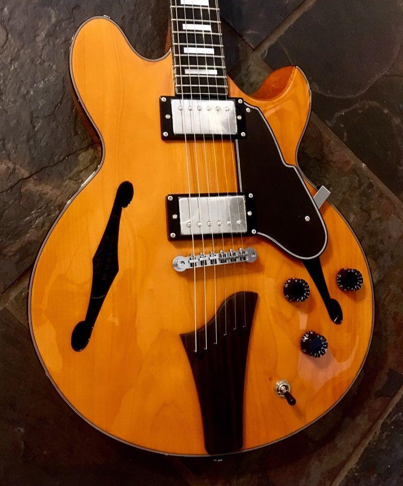 Fret King Fkv3je Elise John Etheridge Semi Hollow 335 Style Guitar
