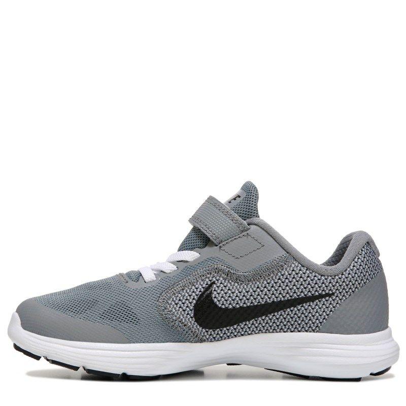 Nike Kids' Revolution 3 Running Shoe Preschool Shoes (Cool Grey/Black)