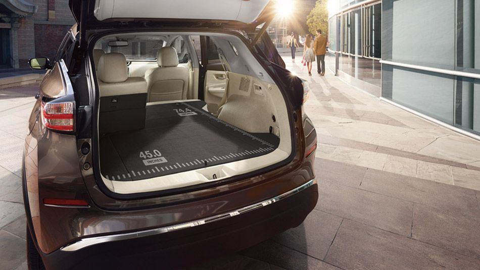 2016 Nissan Murano Rear View Of Liftgate