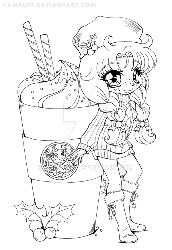 Edit 2017 This Chibi Has Not Yet Been Uploaded To Yampuff Com And Is On My To Edit List Many O Chibi Coloring Pages Coloring Contest Unicorn Coloring Pages