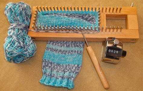 I Made Socks And You Can Too Looms Pinterest Loom Knitting