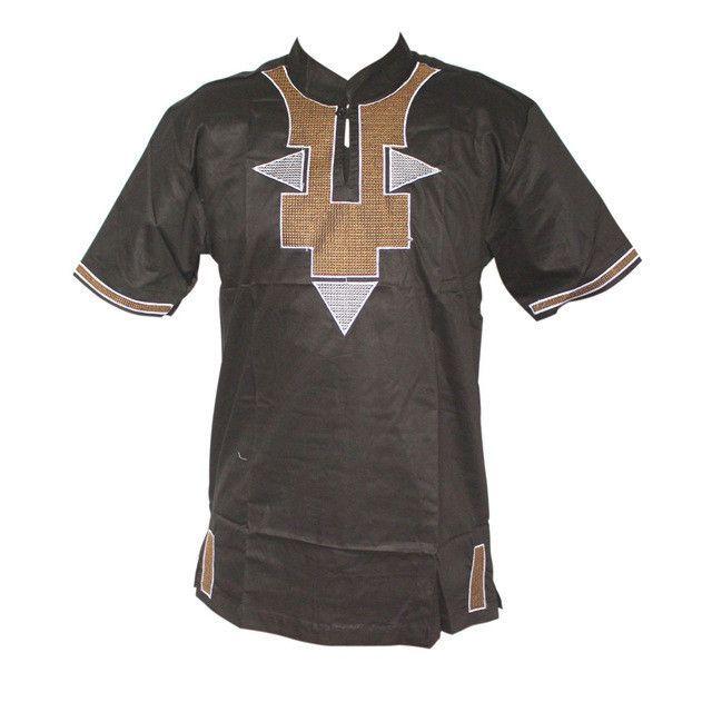 Mr Hunkle 2017 New Fashion Men\'s Dashiki Print T-shirt Embroidery ...
