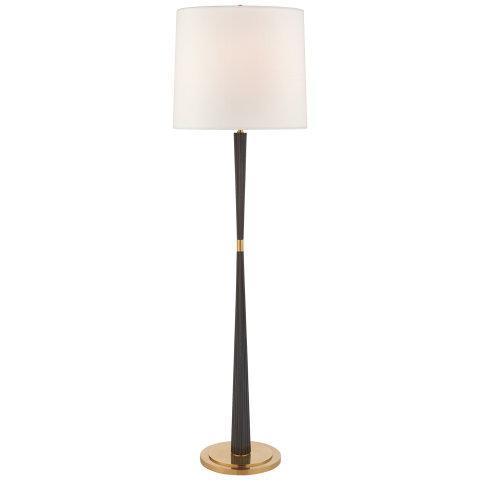 Refined Rib Large Floor Lamp Large Floor Lamp Floor Lamp Lamp