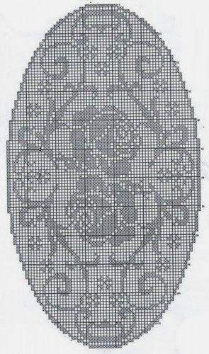 l ufer oval rosen 02 filet decken oval quadrat pinterest. Black Bedroom Furniture Sets. Home Design Ideas