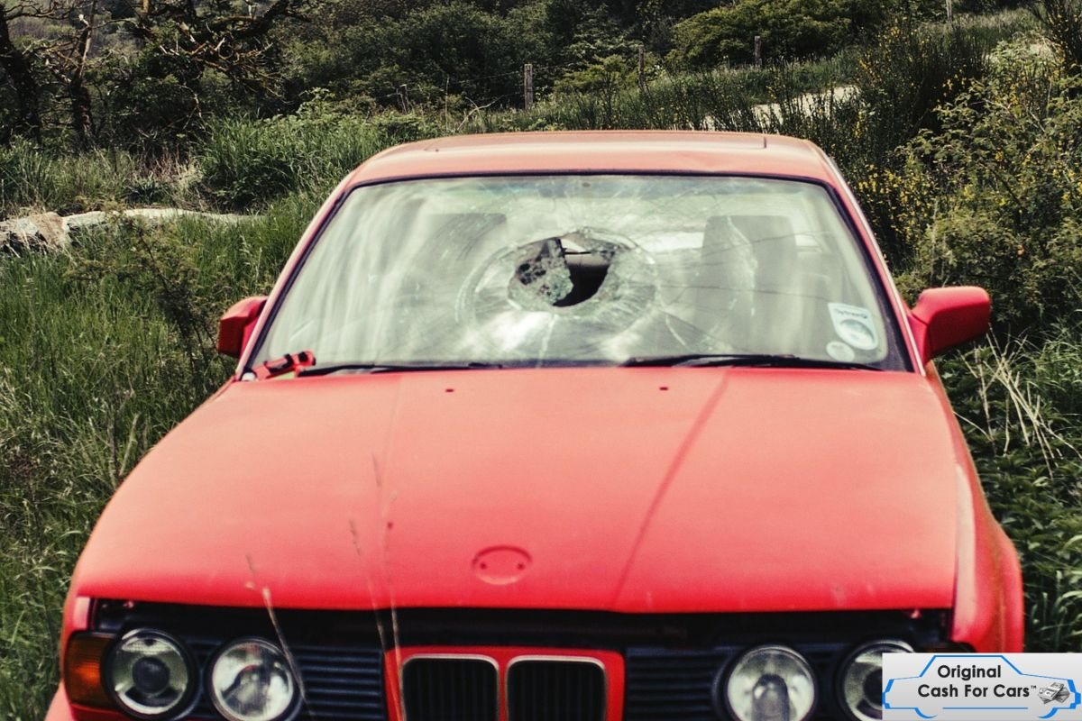 Sell your Damaged Car Auto glass, Car, Cars
