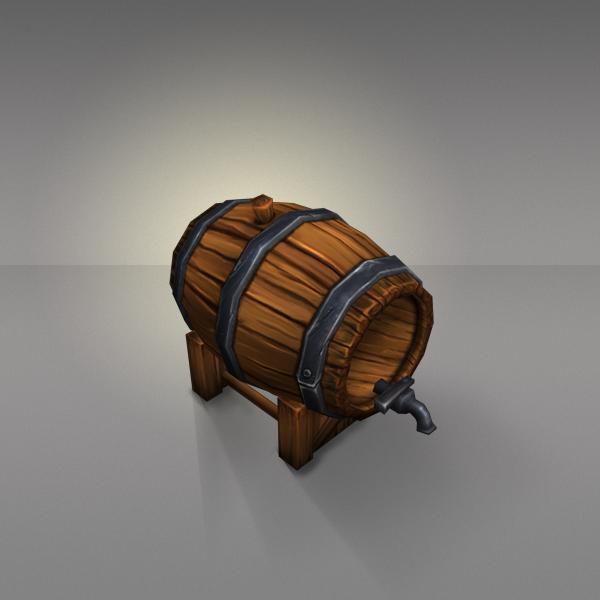Wine Barrels Low Poly Barrel Texture Low Poly Barrel