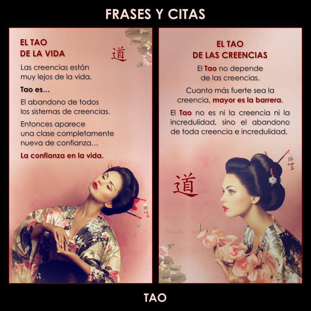 IMAGENES WHATSAPP TAO | Frases, Tao, Frases de famosos