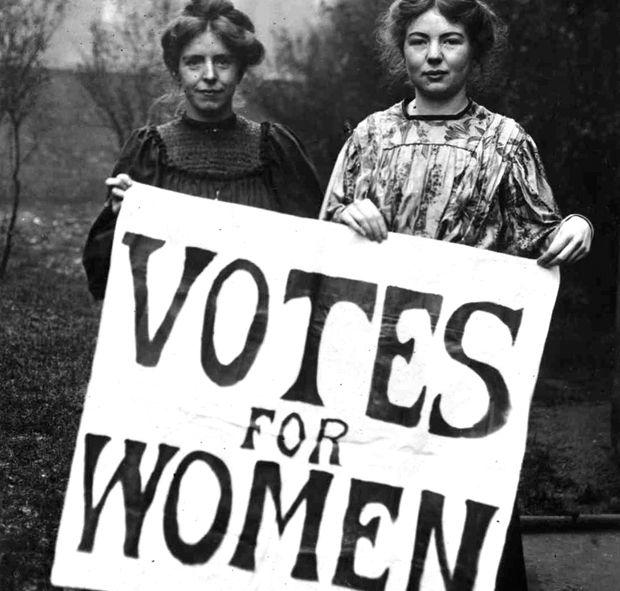 Suffragettes in 1911 - First-wave feminism   grrl power 4ever ...