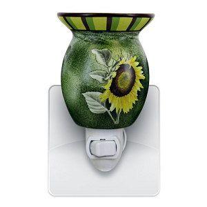 Sunflower Plug In Electric Tart Warmer By