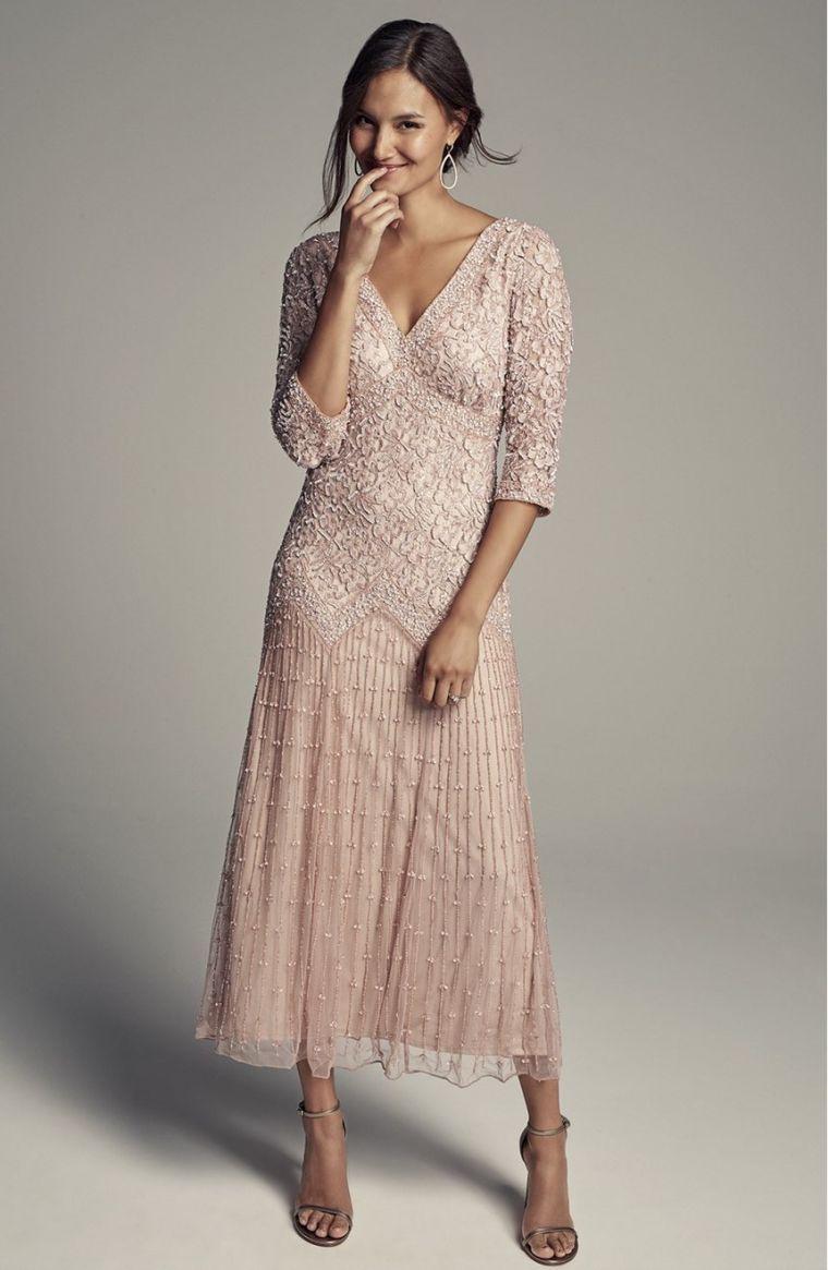 Hochzeits-Einladungs-Kleid - unser Herz wählt für die Frühlings