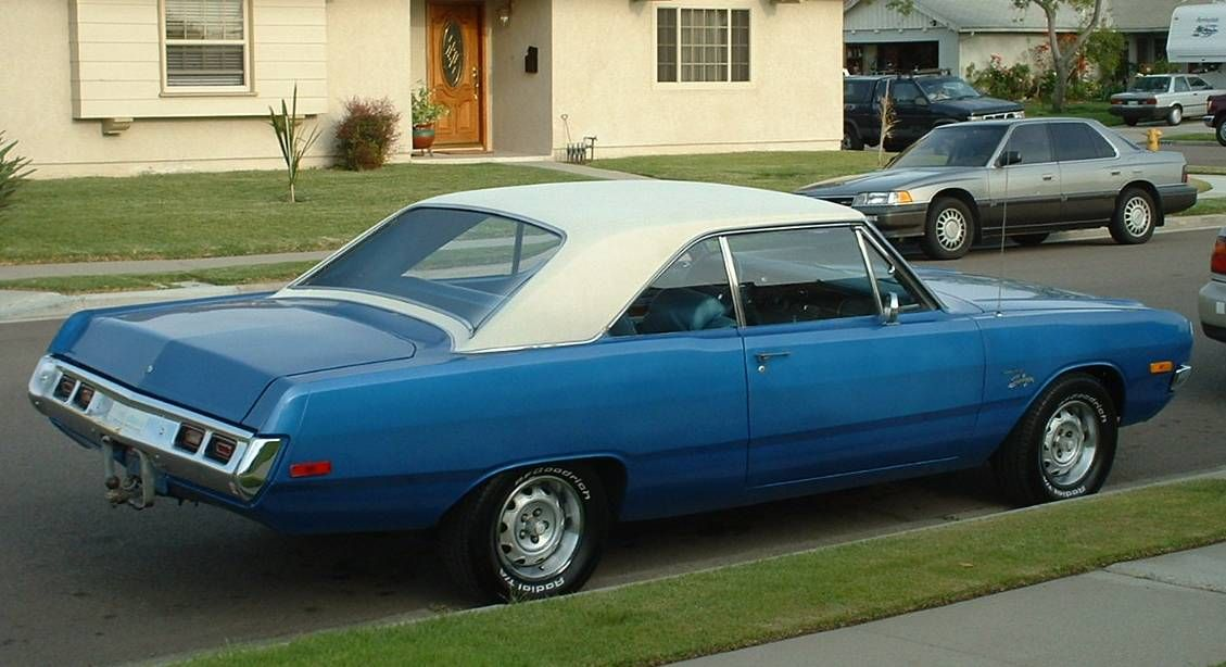 My third car. 1972 Dodge Dart Swinger, bought used for around a ...