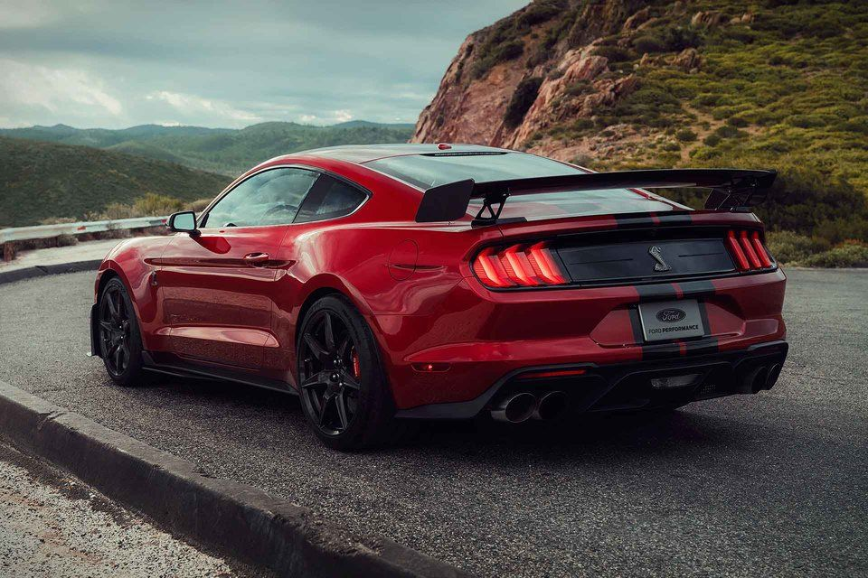 2020 Ford Mustang Shelby Gt500 Coupe With Images Ford Mustang