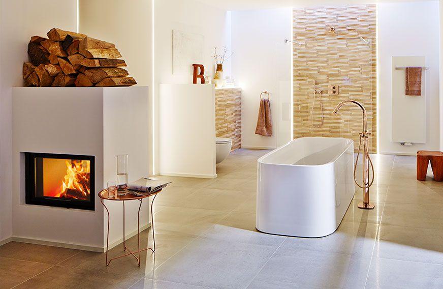 schmid lina tv 6745h | kamin ofen wohnen badezimmer | schmid, Badezimmer