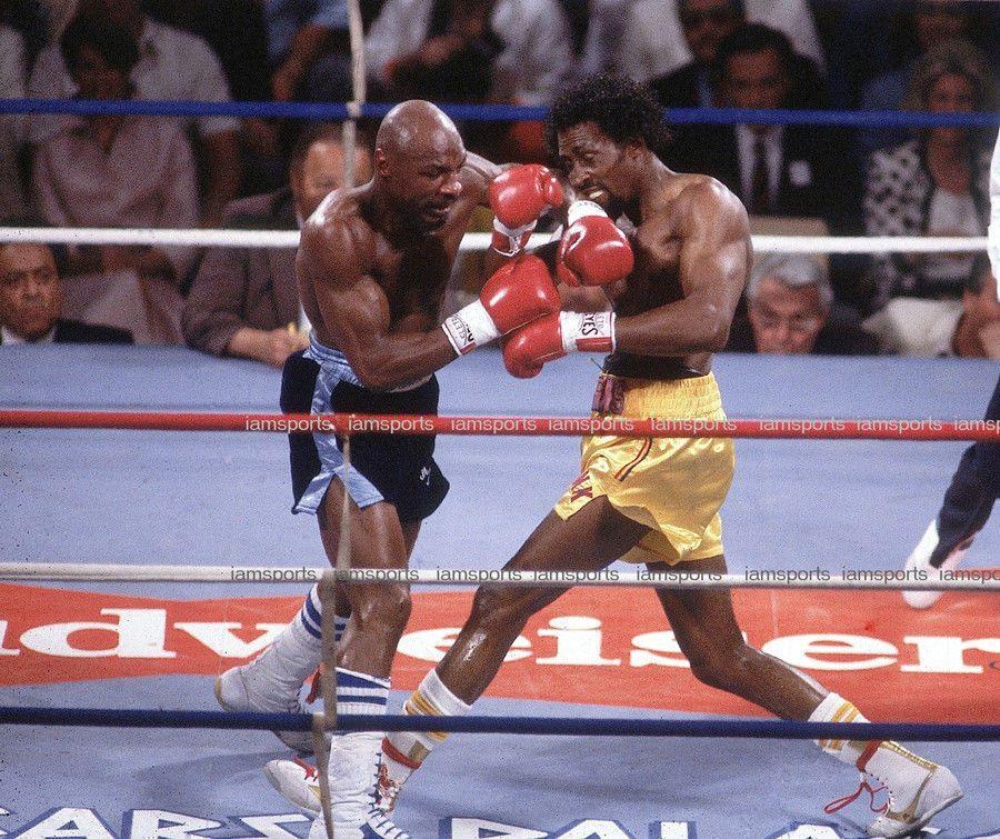 Thomas Hearns Vs Marvin Hagler Boxing Fight 8x10 Photo Boxing Fight Boxing Posters Boxing History