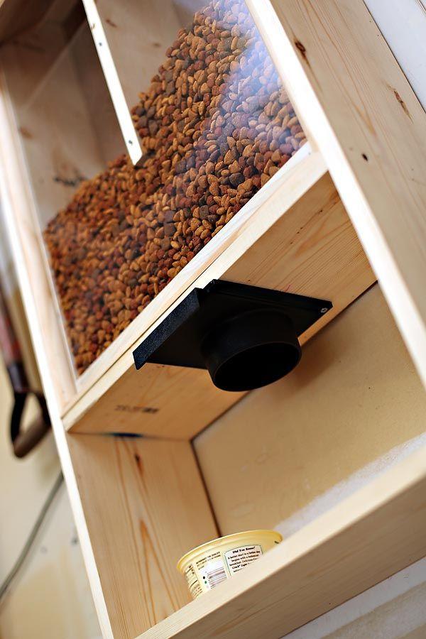 Custom Dog Food Dispenser Dog Food Storage Diy