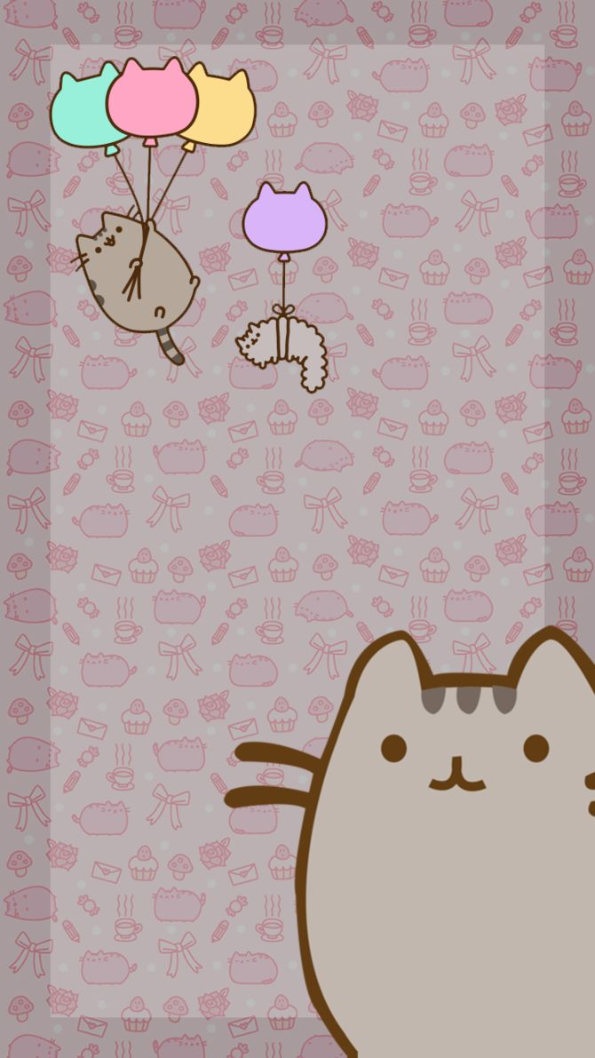wallpaper pusheen pinterest wallpaper iphone wallpaper and