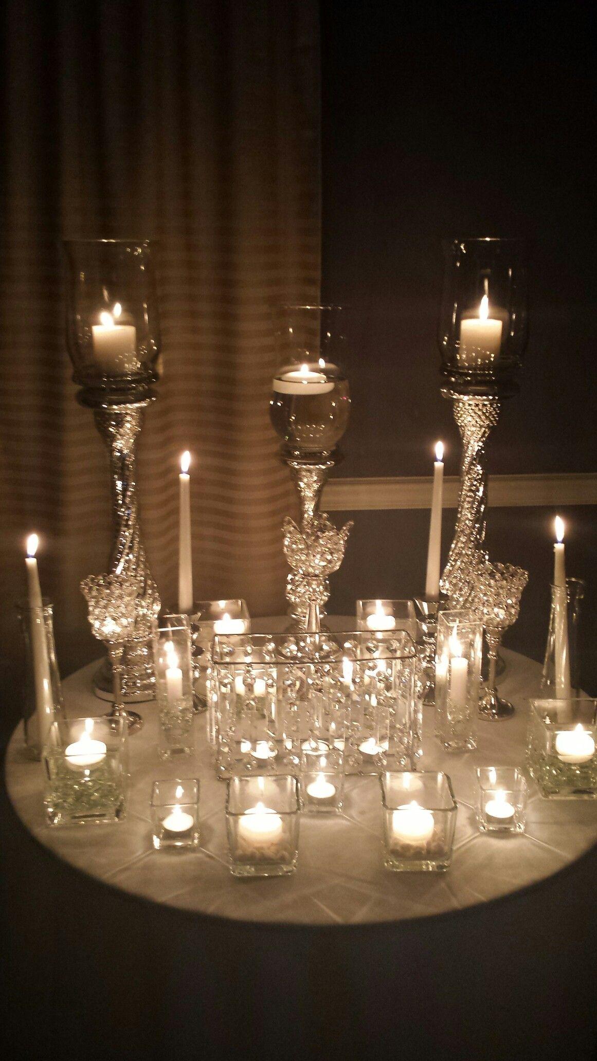 Wedding decor images  Candles Wedding Decor  Wedding Designs by DuW Premier Events