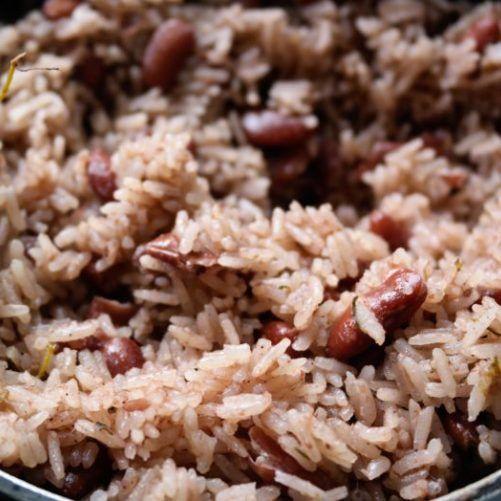 delicious authentic jamaican rice and peas  recipe  pea