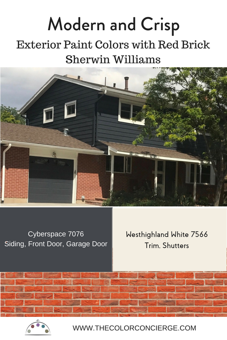 Best Exterior Paint Colors For Red Brick Homes And How To Use Them Red Brick House Red Brick House Exterior Red Brick Exteriors