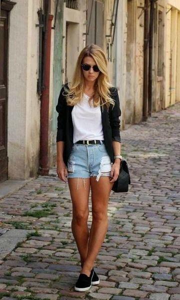 Moda it Look: All Jeans + Renda   Moda it   Looks