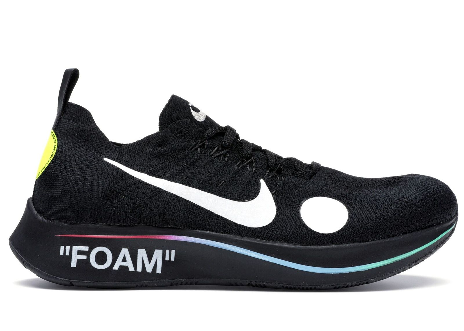 Check out the Nike Zoom Fly Mercurial Off-White Black available on StockX f30f2b7ba