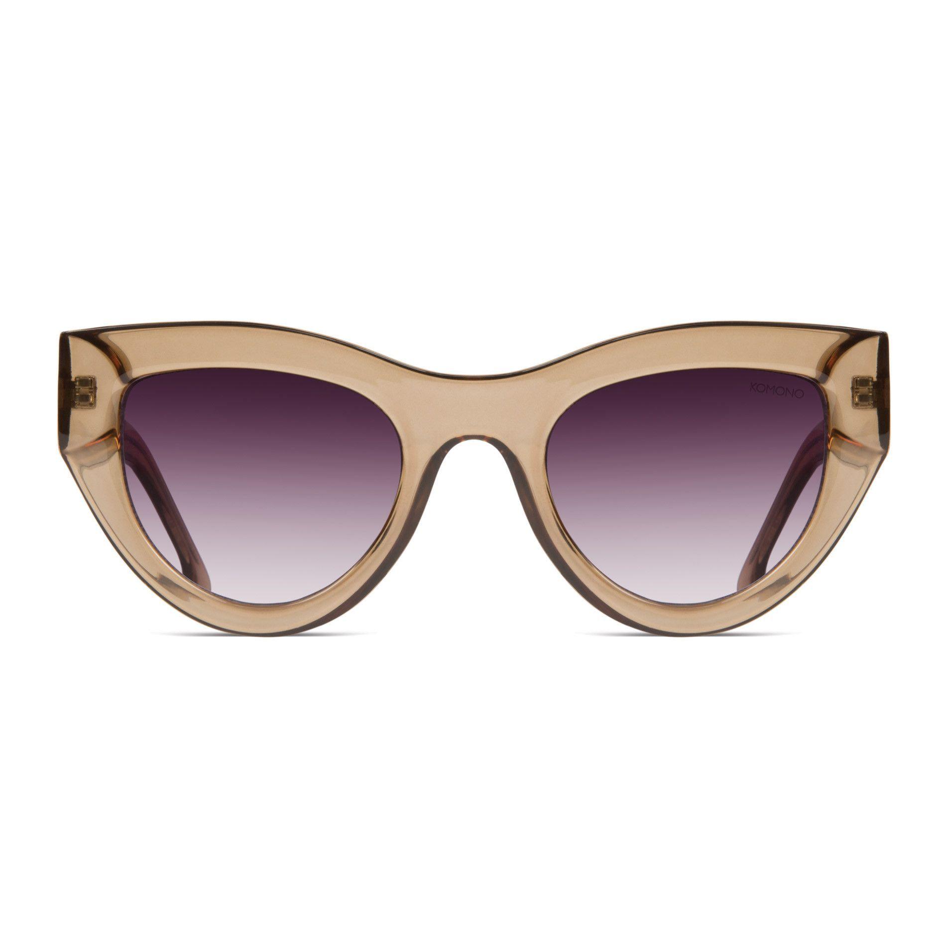 Komono Phoenix Sunglasses in Latte