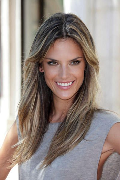 Alessandra Ambrosio Hair Styles Hairstyle Hair
