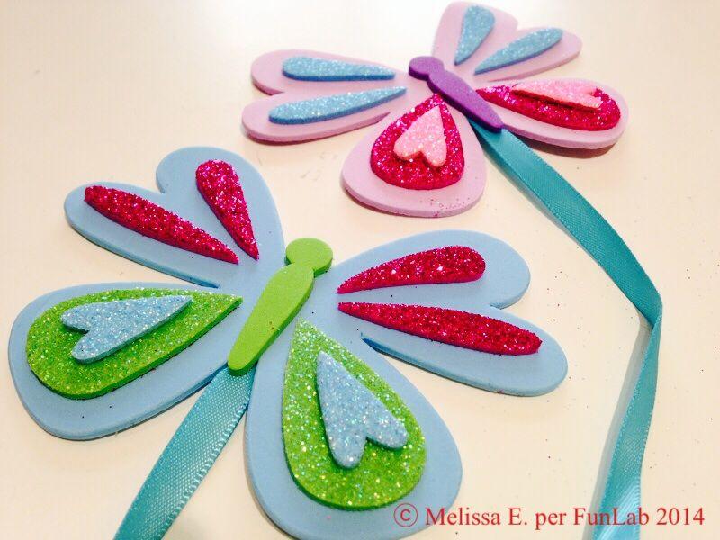 Segnalibro Bambini ~ Idea regalo natalizia segnalibro di carta che può essere