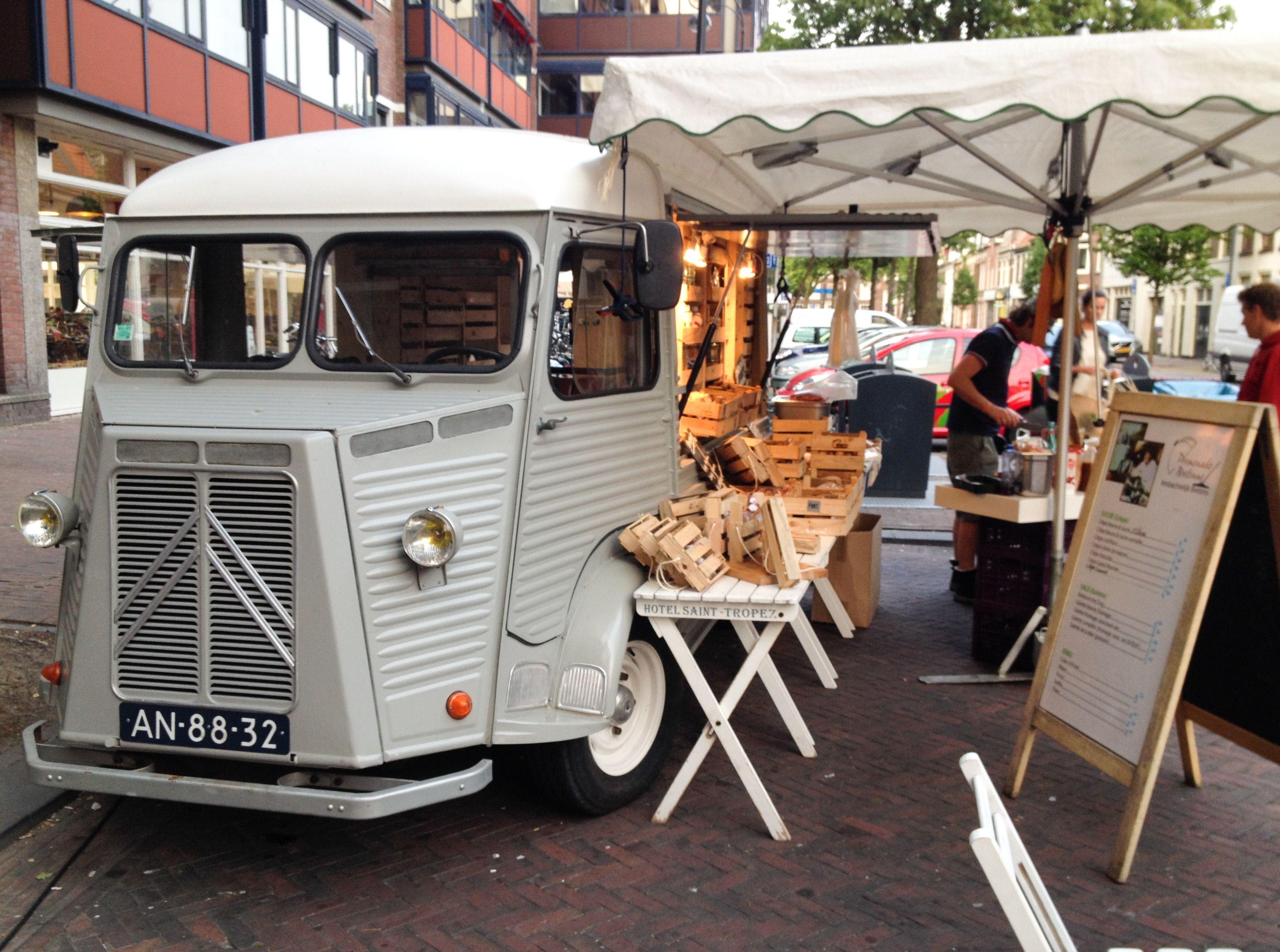 Citroën Foodtruck Coffee food truck, Food truck, Food vans